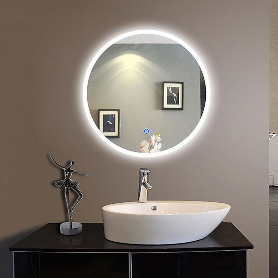 24 x 24 Inch LED Bathroom Mirror