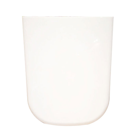 40PP White Square Soft Close Toilet Seat with Cover PP White Square