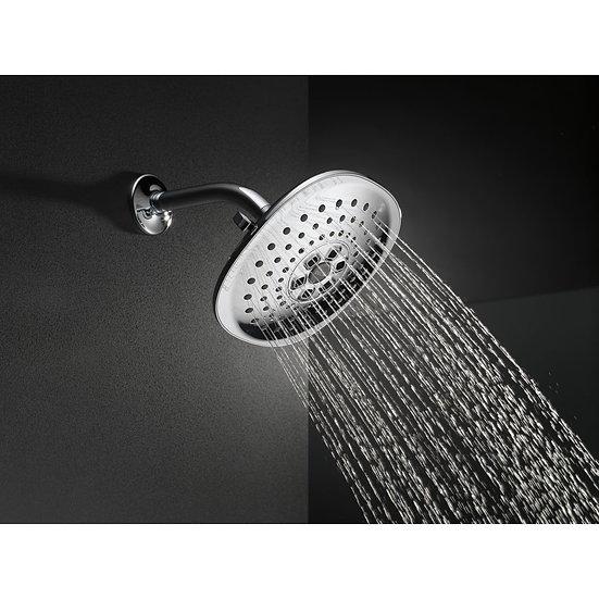 DELTA H2Okinetic 3-Setting Raincan Shower Head