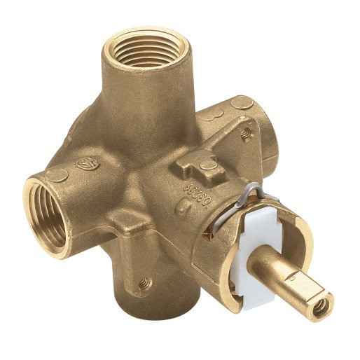 """Moen M-Pact Posi-Temp® 1/2"""" IPS Connection Includes Pressure Balancing"""