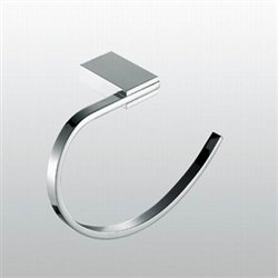 Aqua FINO Towel Ring - Chrome