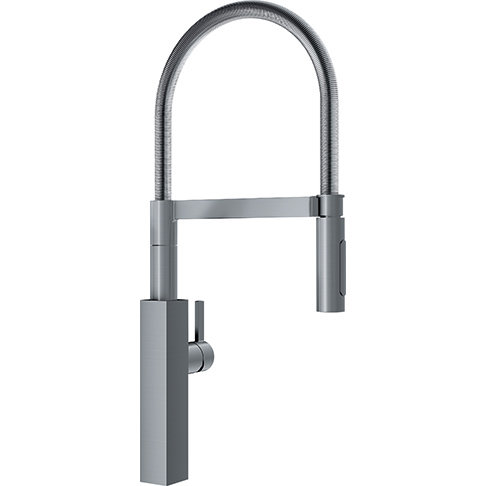 Crystal KFFFPD4680 Pull Down Spray Satin Nickel