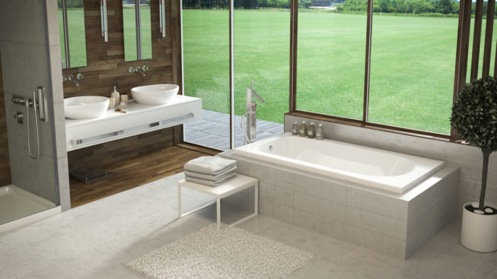 Lux™ 66″ Drop-In Bath