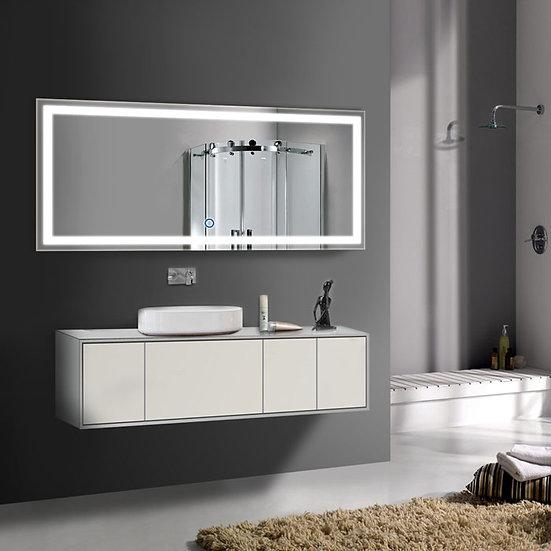 70 x 32 Inch LED Bathroom Mirror