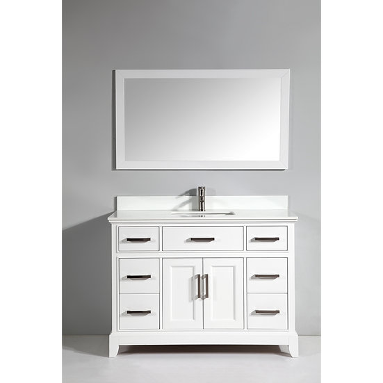 Single Sink Vanity – Super White Phoenix Stone,