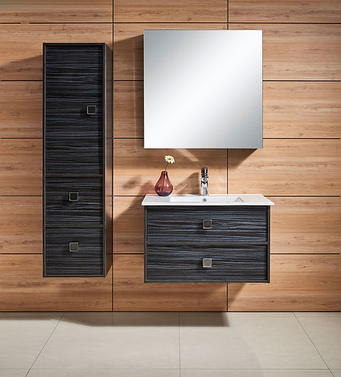 31 In. Wall Mount Bathroom Vanity