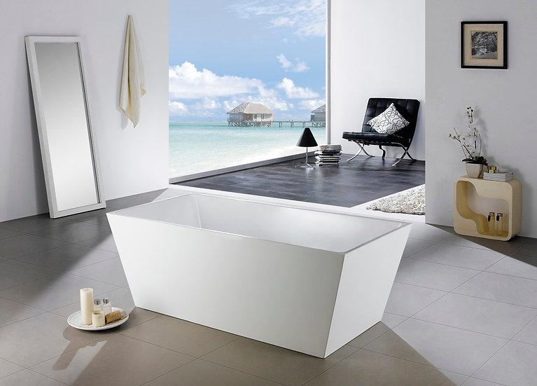 """67"""" Aqua Squasra Free Standing Bathtub"""