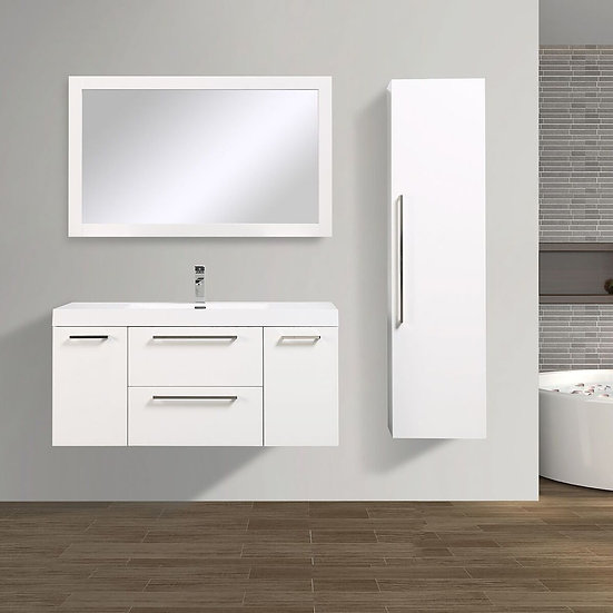 Eclipse Side Cabinet White