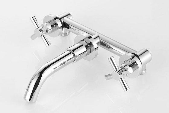 Modern Wall Mount Sink & Tub Faucet