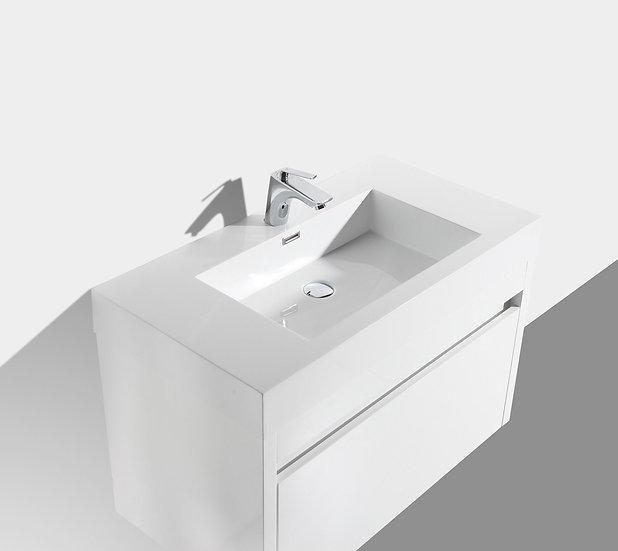 "36"" Labrador - White - Single Sink Wall-Hung"