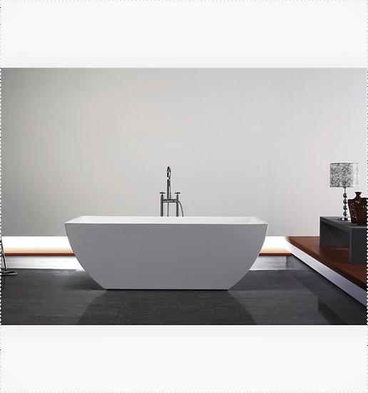 "59"" Kube CONTEMPORANEA Free Standing Bathtub"
