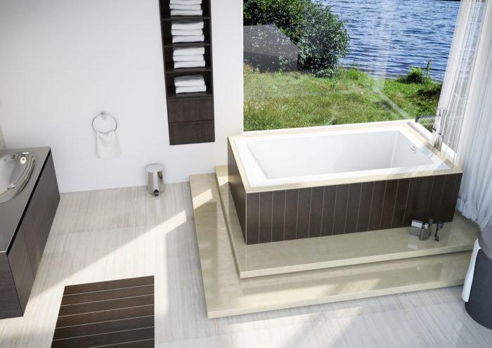"""Mella™ 66"""" Drop-In Bath"""