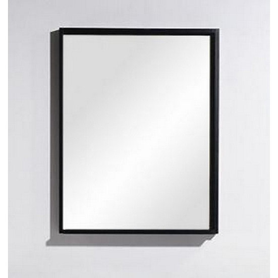 "Bliss 22"" Wide Mirror w/ Shelf - Walnut"
