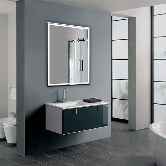 28 x 36 Inch LED Bathroom Mirror