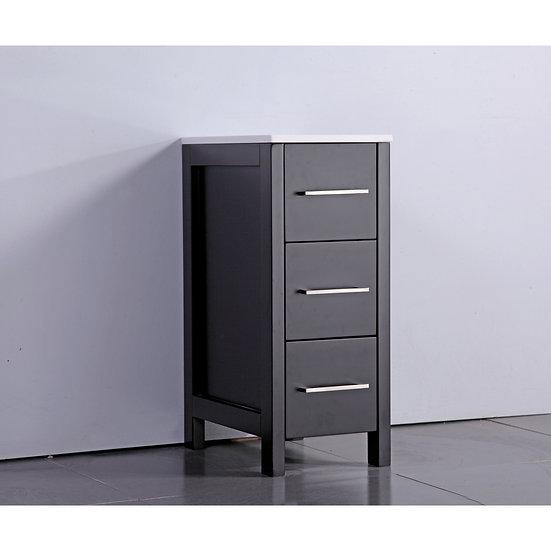 Sophia™ Single Cabinet – White Ceramic Vanity Top