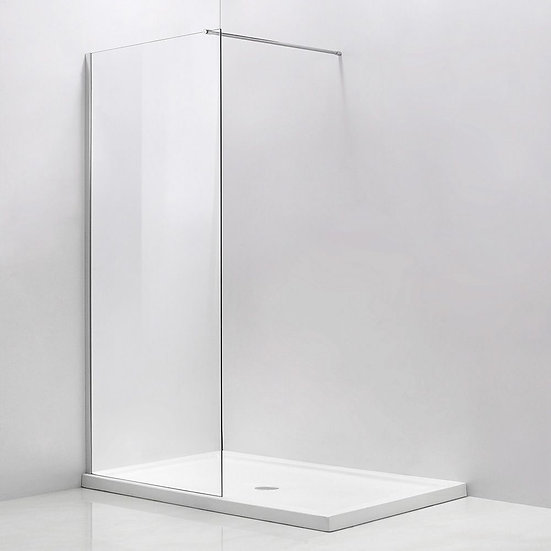 """Walk-In Shower With 36"""" Fixed Panel"""