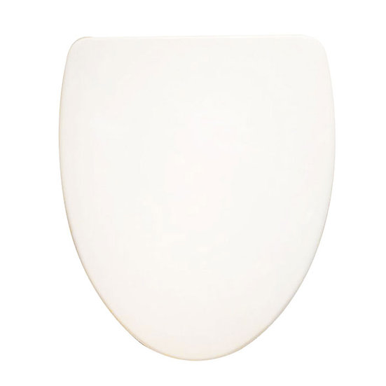 PP White Round Closed Front Soft Close Toilet Seat With Cover