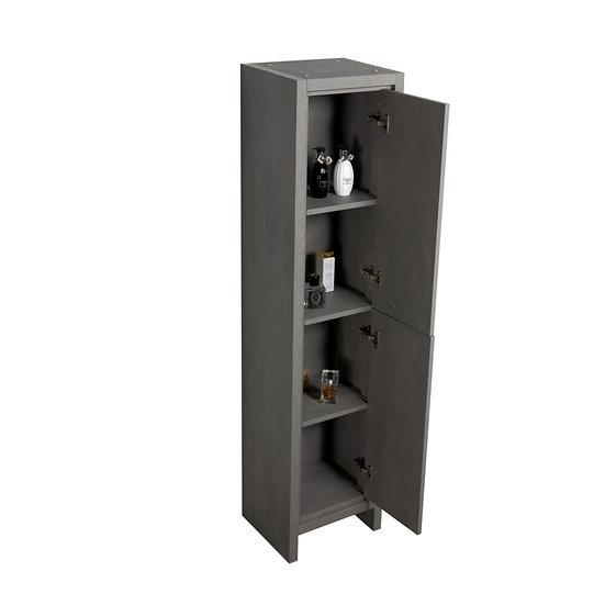 Allier Side Cabinet Cement Grey