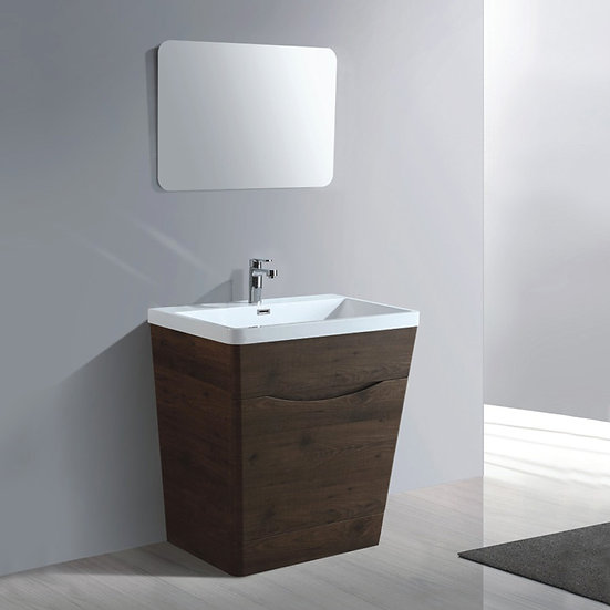 32 In. Bathroom Vanity Set with Mirror