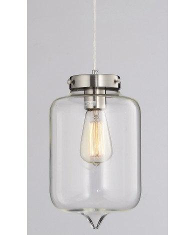 Single Glass Jar Pendant