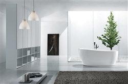 """67"""" Aqua Kono Free Standing Bathtub"""