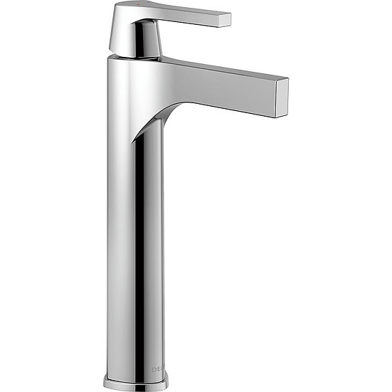 ZURA® By Delta Single Handle Vessel Bathroom Faucet with Touch2O.xt® Technology