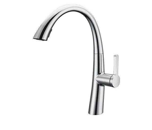 Acqua + Bango, Solid Brass single handle Kitchen Faucet , Chrome