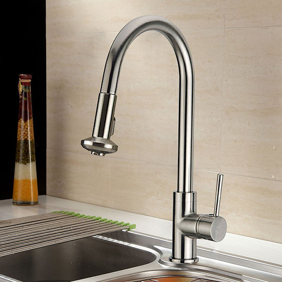 Kitchen Faucet with Pull Out Spray Head