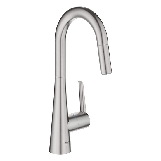 Ladylux® L2 Prep Sink Dual Spray Pull-Down Kitchen Faucet