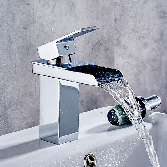 Basin & Sink Waterfall Faucet