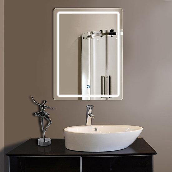 24 x 32 Inch Bathroom LED Lighted Mirror