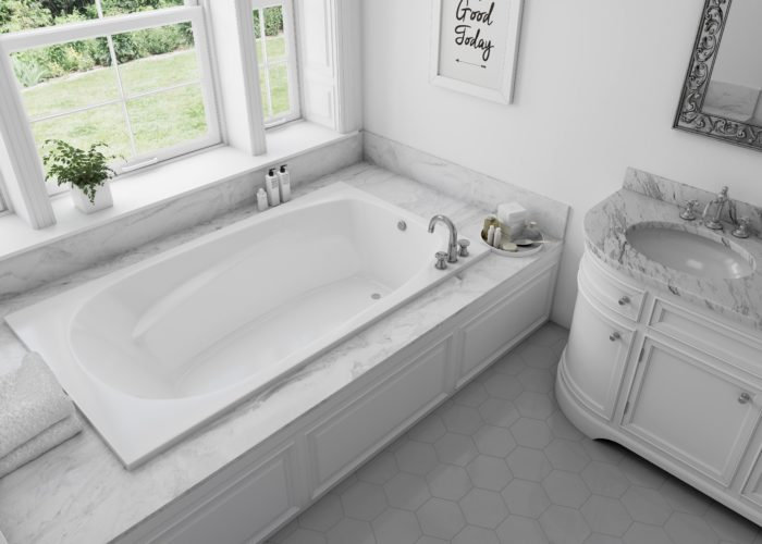 Hudson™ 6 72″ Drop-In Bath