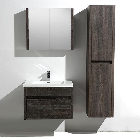 30 In. MFC Single Sink Bathroom Vanity