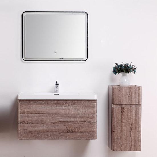 23 In. MDF Single Sink Bathroom Vanity