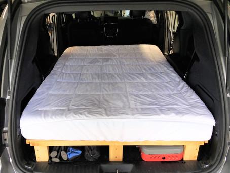 Summer 2020 Sale! GoneCamper Minivan Camper Platform Bed