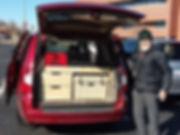 GoneCamper minivan kitchen