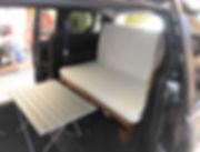 GoneCamper minivan camper bed