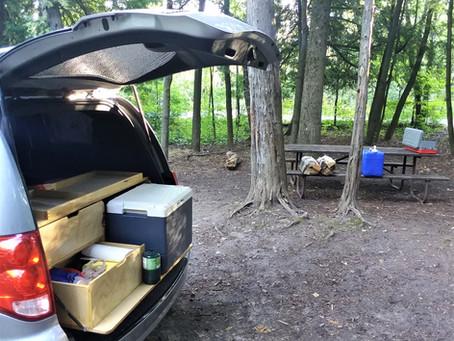 Summer 2020 Sale! GoneCamper Minivan Camper Package