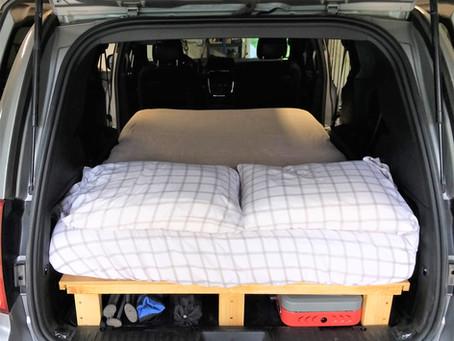 GoneCamper 2.0 Platform Bed for Minivans