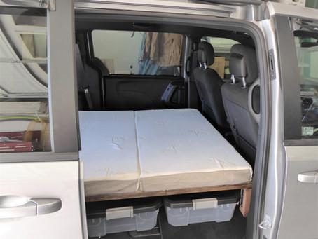 GoneCamper Beds for Vans: MANY Options Available