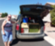 GoneCamper minivan camper kitchen