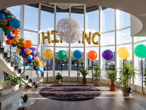 A Penthouse Party With Laser Tag And Piñatas