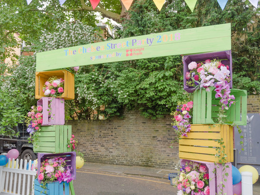 A Colourful Street Party In Chelsea