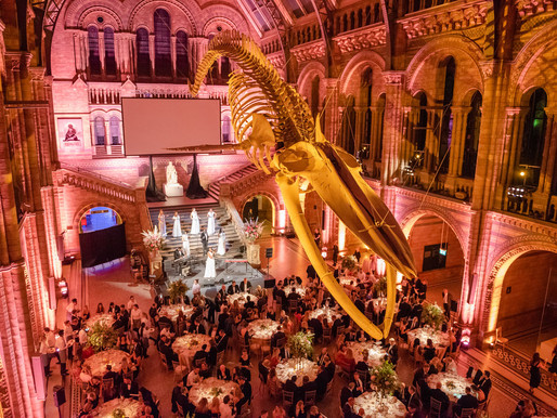 A Charity Ball Held At A Iconic London landmark