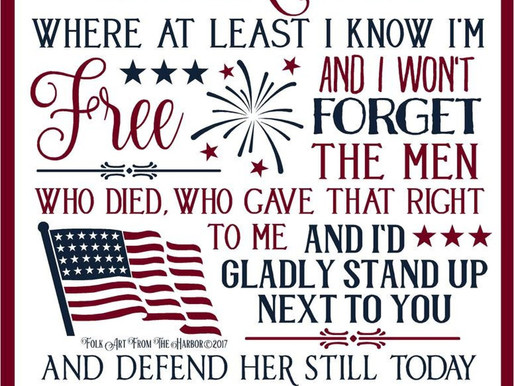 """""""I am proud to be an American where at least I know I am free"""" Identity, empathy, race & freedom"""