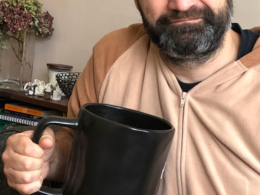 In the New Year, I am cutting back to one cup per day.