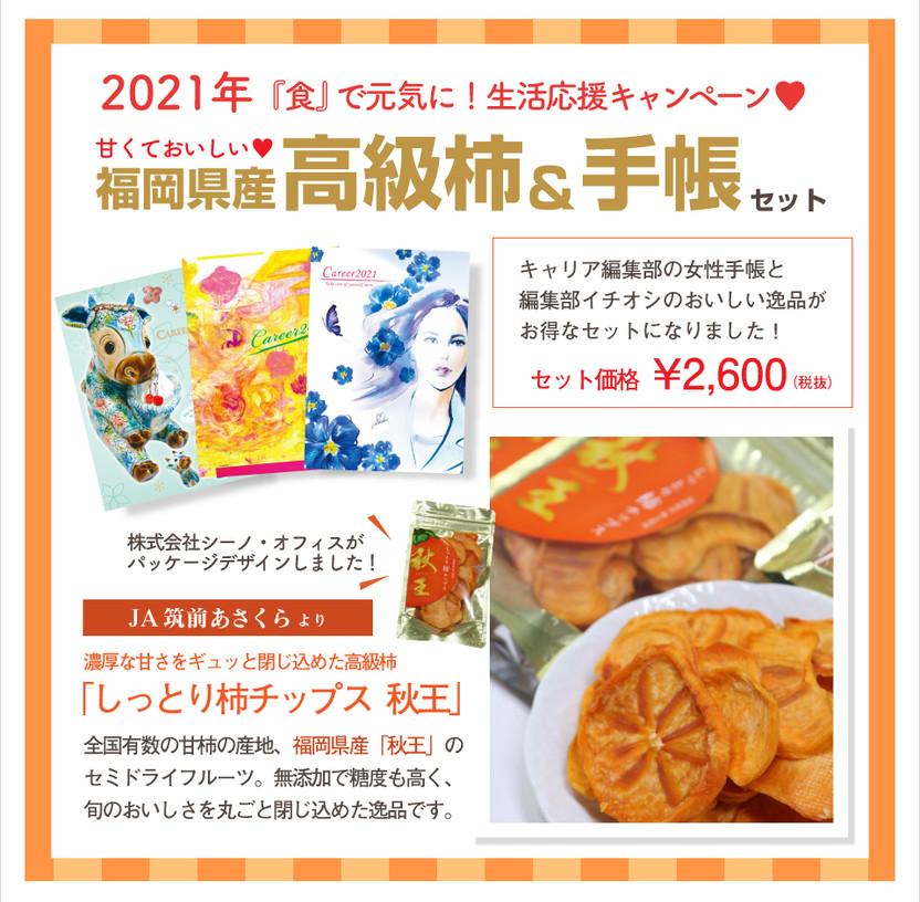 高級柿&手帳セット