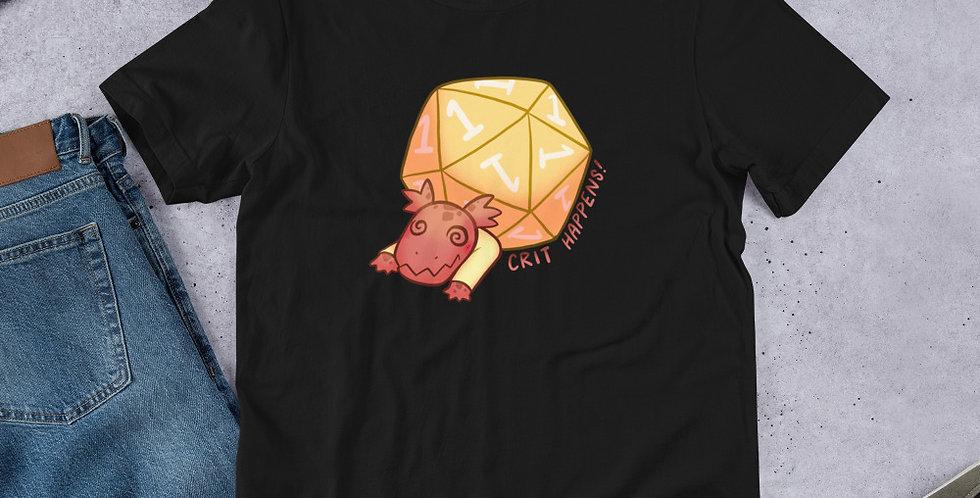 Crit Happens- Short Sleeve Unisex T-Shirt