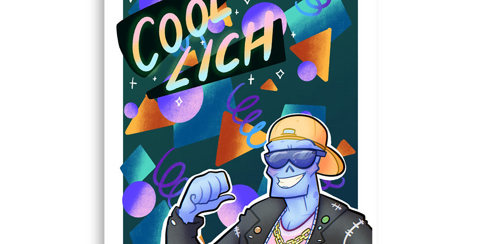 Cool Lich Poster