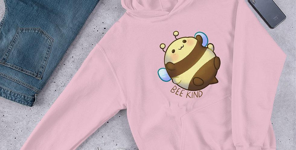 Bee Kind- Pink Hoodie